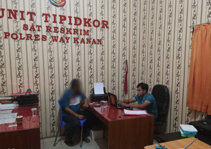 Polisi Jemput Paksa Kakam Terkait Kasus Korupsi