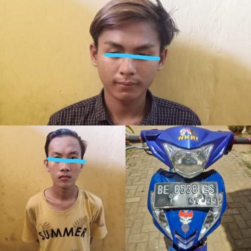 Polisi Meringkus Dua Remaja Perampas Motor
