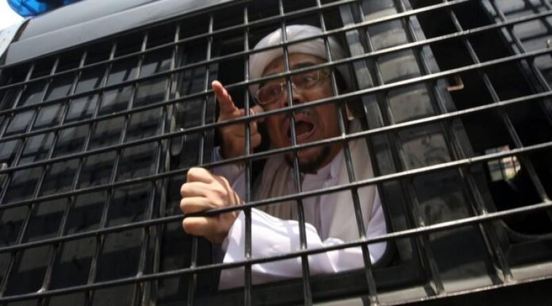 Polisi Pastikan Rizieq dalam Kondisi Sehat di Rutan Bareskrim