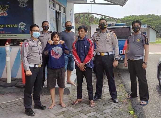 Polisi Patroli Tangkap Pengedar Sabu