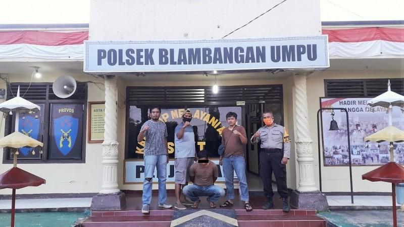 Polisi Ringkus Buronan Pencuri Motor di Way Besai
