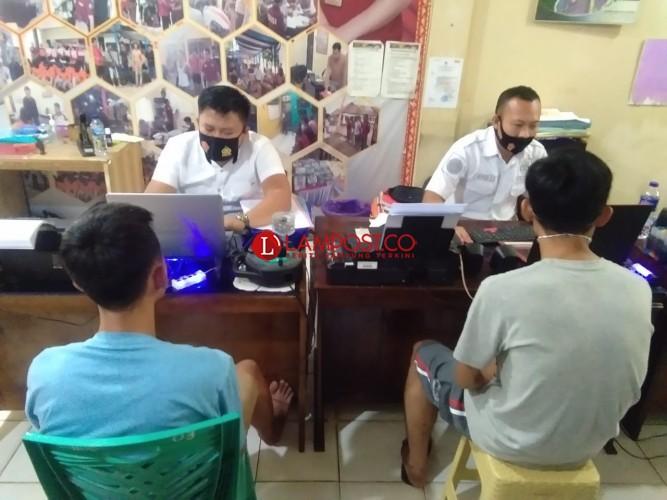 Polisi Ringkus Pegawai Honorer di Lampura Diduga Pengedar Sabu