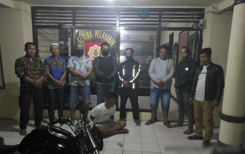 Polisi Ringkus Pemuda Pembawa Sabu di Bumi Agung