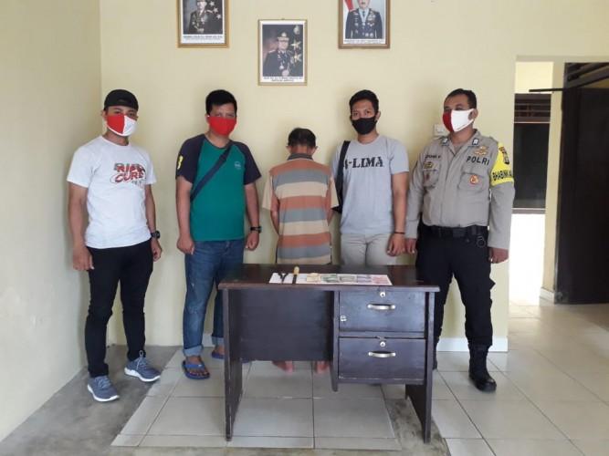 Polisi Ringkus Pencuri Kotak Amal Masjid di Pagelaran