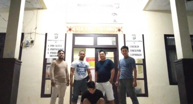 Polisi Ringkus Pencuri saat Bersembunyi di Bengkel