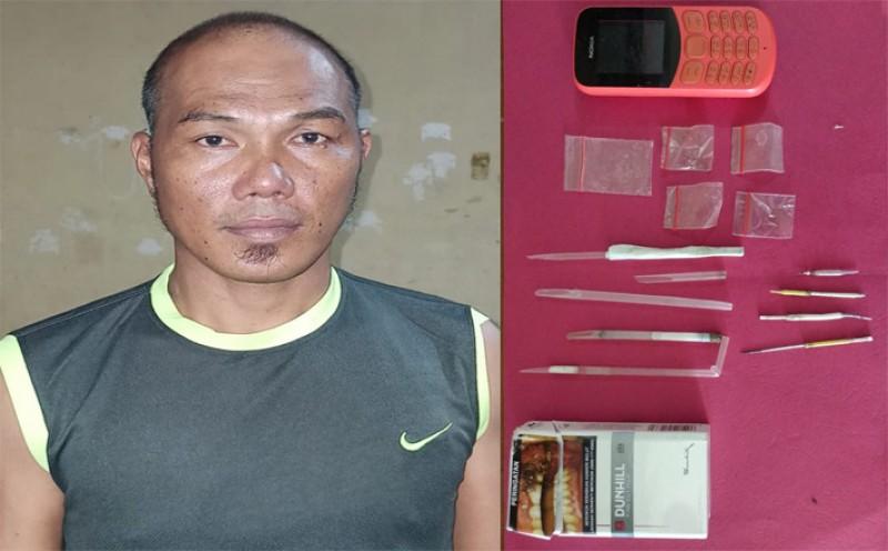 Polisi Ringkus Pengedar Sabu di Denteteladas