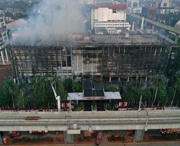 Polisi segera Periksa Pejabat Kejagung Terkait Kebakaran Gedung