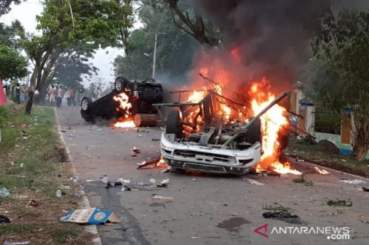 Polisi Selidiki Insiden Kerusuhan Pembagian BLT di Mompang Julu