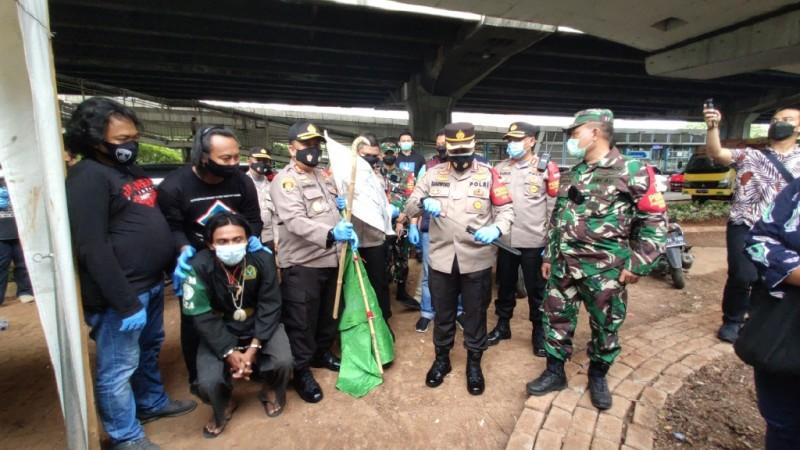 Polisi Sita Ganja Hingga Sajam dari Peserta Aksi 1812