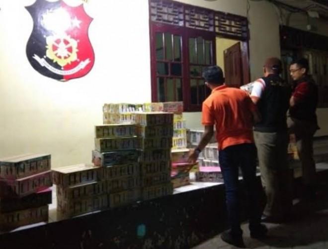 Polisi Sita Ratusan Burung Kacer Ilegal Senilai Rp250 Juta