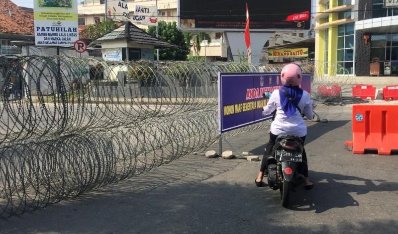 Polisi Tambah Titik Penyekatan di Bandar Lampung