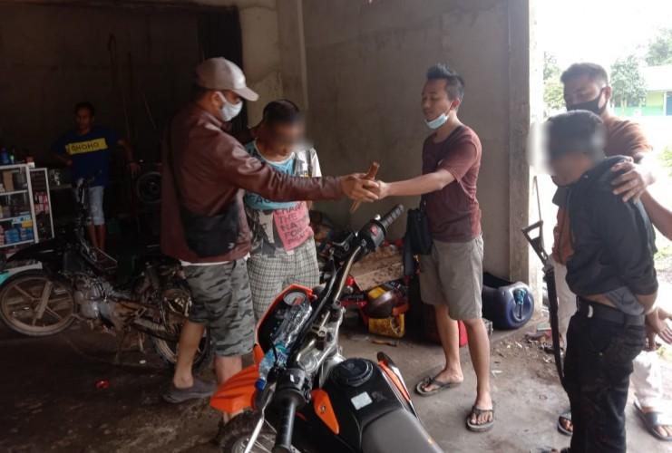 Polisi Tangkap Dua Pelaku Curanmor dengan Modus Kehabisan Bensin