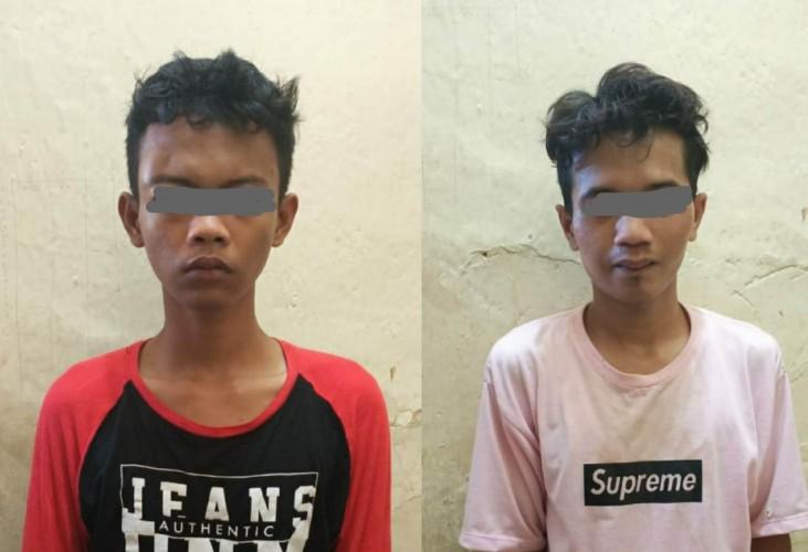 Polisi Tangkap Dua Pemuda Pencuri Motor Tetangga
