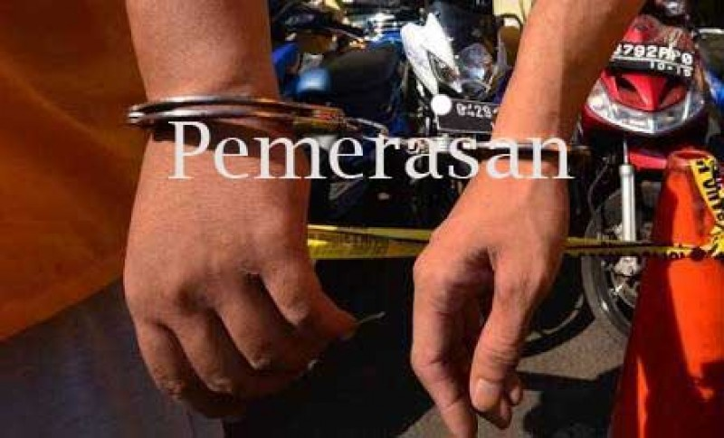 Wartawan Diduga Memeras Warga Ditangkap