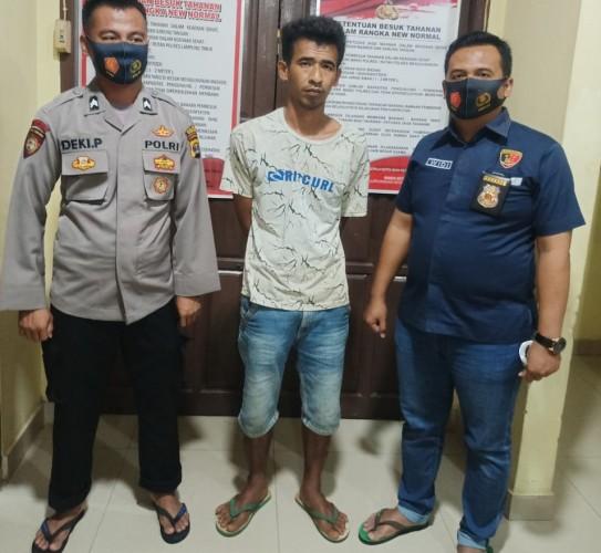 Polisi Tangkap Pelaku Pembakar Bendera Merah Putih di Lamtim