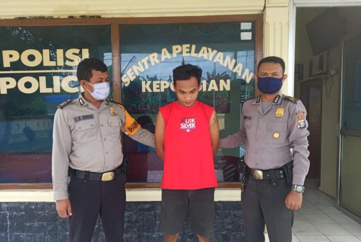 Polisi Tangkap Pelaku Penggelapan Mobil di Tulangbawang