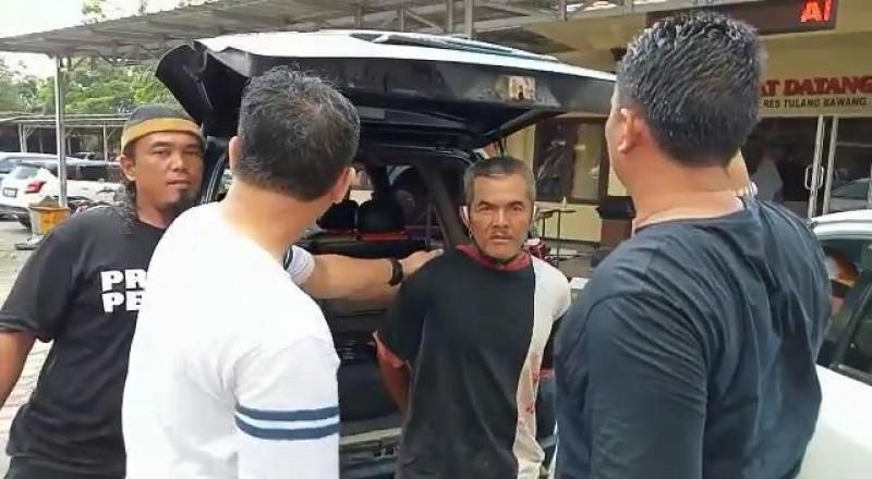 Polisi Tangkap Pembunuh Petani yang Disabet Golok