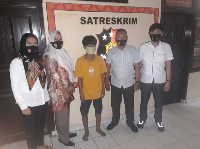 Polisi Tangkap Pemuda Cabul di Lampung Utara