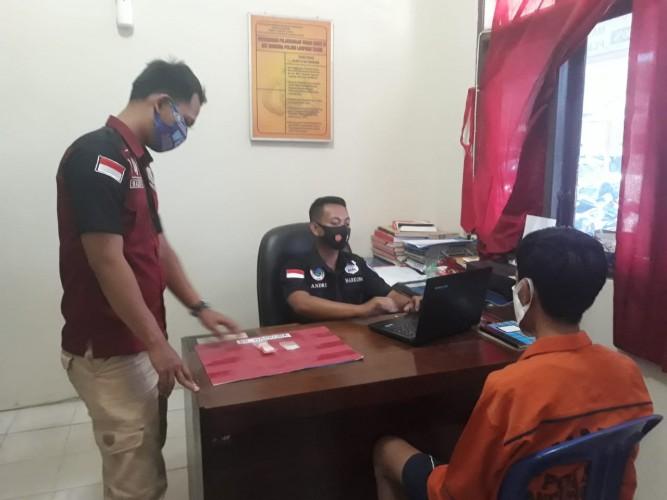 Polisi Tangkap Pemuda Kedapatan Membawa Sabu