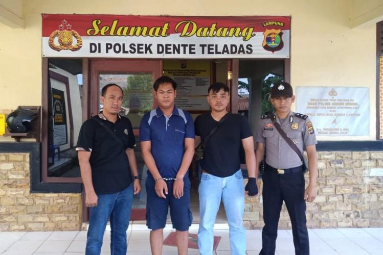 Polisi Tangkap Pencuri di Perkebunan Tulangbawang