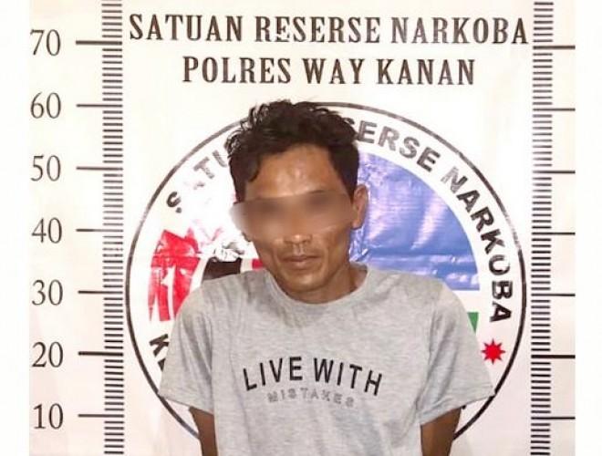 Polisi Tangkap Pengedar Sabu di Kampung Banjarmasin