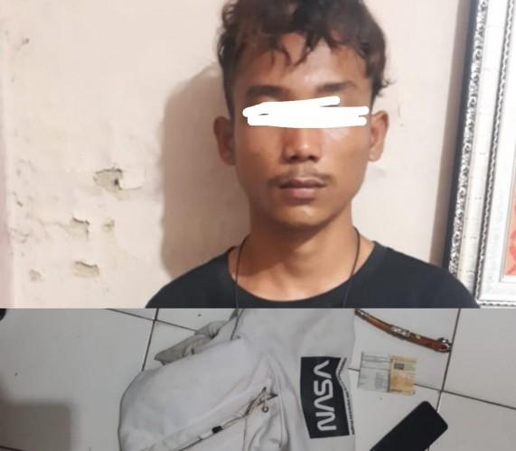 Polisi Tangkap Remaja Pencuri Ponsel di Katibung