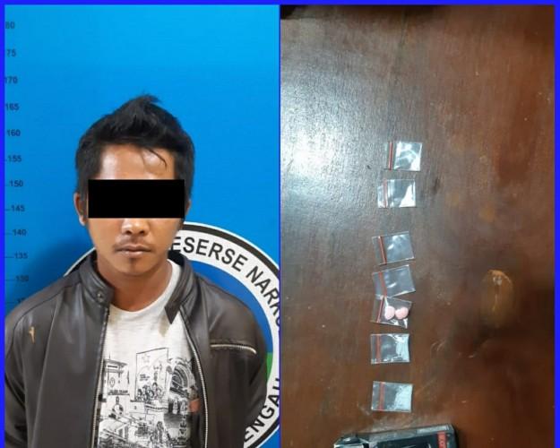 Polisi Tangkap Warga Tanjung Anom Saat Bawa Narkoba