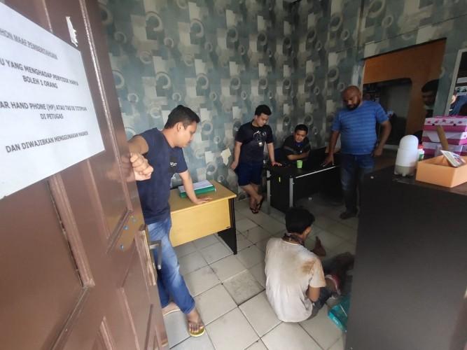 Pencuri Motor Asal Jabung Ditembak dalam Pelarian