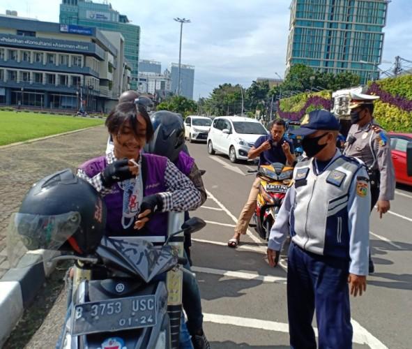 Polisi Tunggu Ketegasan Anies Soal Pelanggar PSBB
