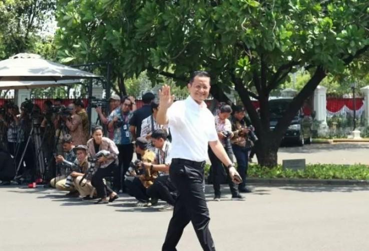 Politikus PDIP Juliari Batubara Datangi Istana