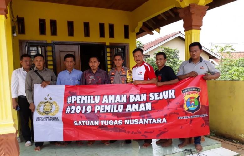 Polres Lampung Utara AjakCiptakan Pemilu Damai