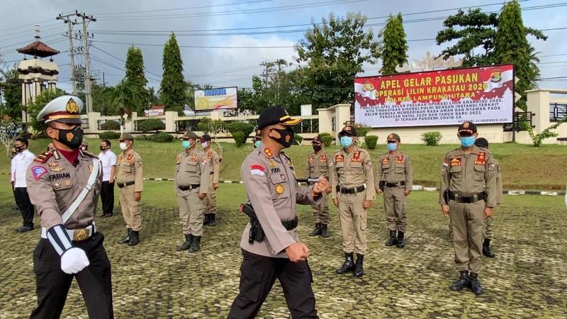 Polres Lampung Utara Terjunkan 219 Personel Gabungan