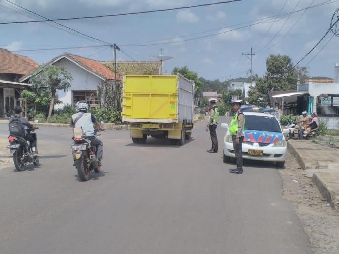 Polres Lampura Giat Patroli Kejahatan Jalanan