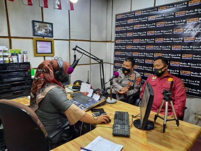 Polres Lampura Jaring Calon Polisi Lewat Radio