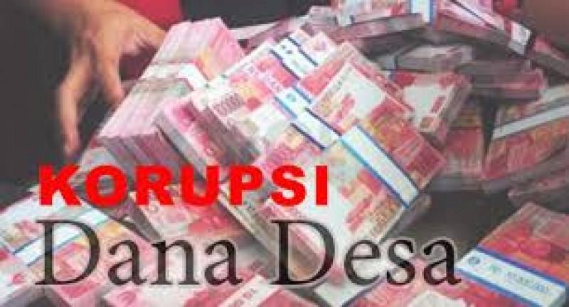 Polres Lampura Tangani Kades Korupsi Dana Desa