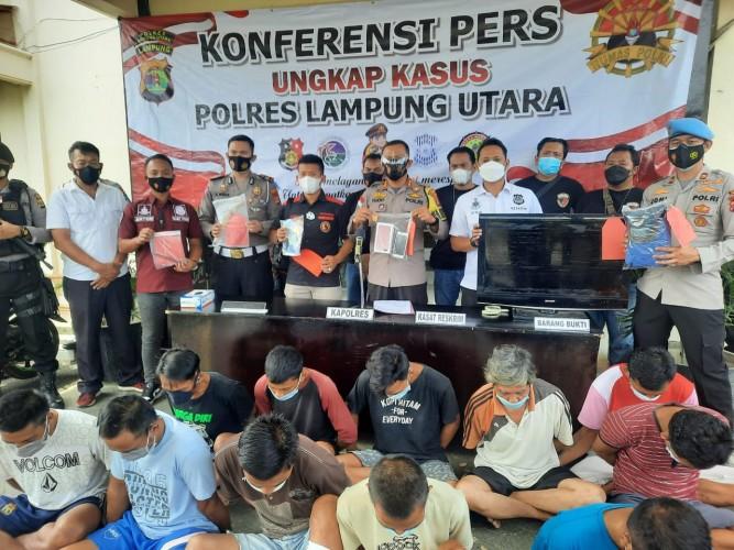 Empat Pencuri Ditembak di Lampung Utara