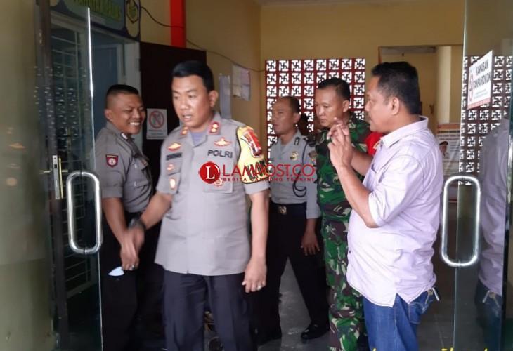 Polres Lamsel Siap Pengamanan Pleno Rekapitulasi