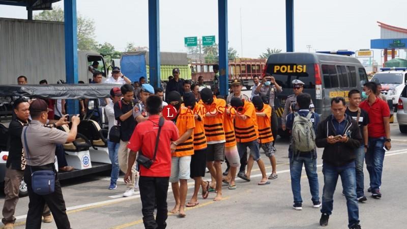 Polres Lamsel Ungkap Penyelundupan Narkoba Kendali dari LP Cipinang