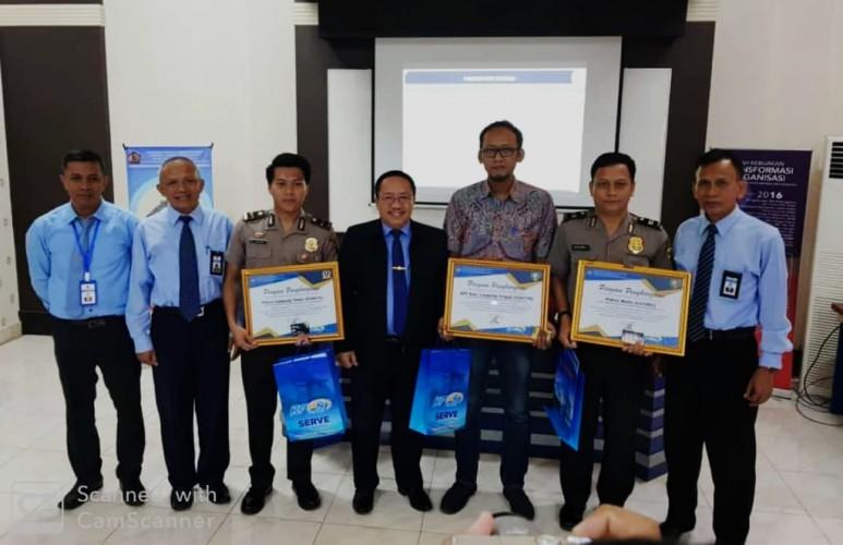 Polres Lamtim Terima Penghargaan dari KPPN Metro