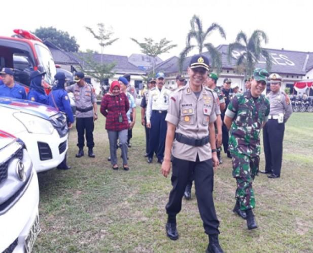 Polres Lamtim Terjunkan Personel Gabungan pada Operasi Lilin