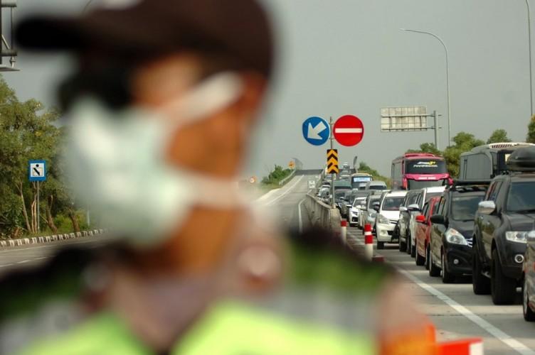 Polres Lamtim Tetap Periksa Kendaraan Luar Kota Seusai Operasi Ketupat
