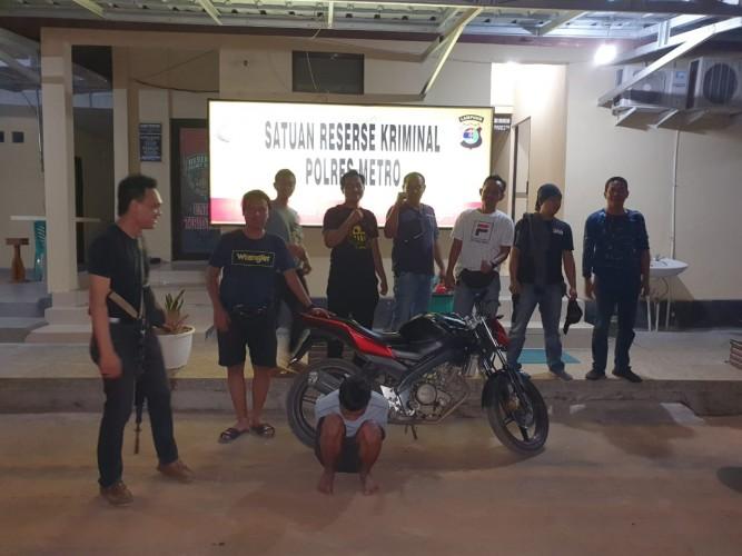Polres Metro Ringkus Pelaku Curas di Jalan Pattimura