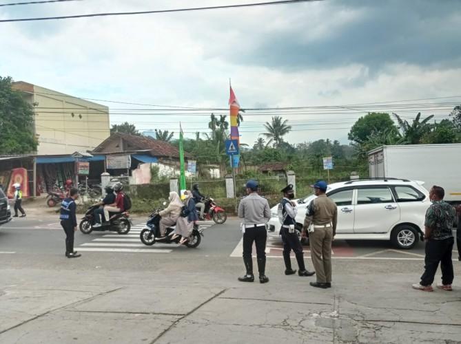 Polres Pesawaran Maksimalkan Pengamanan Ring Tiga Kunjungan Presiden Jokowi