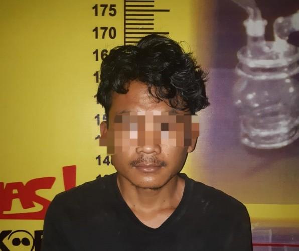 Polres Pesawaran Tangkap Satu Pecandu Narkoba di Gedongtataan