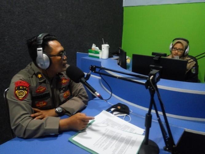 Polres Pringsewu Sosialisasikan Penerimaan SIPSS Polri