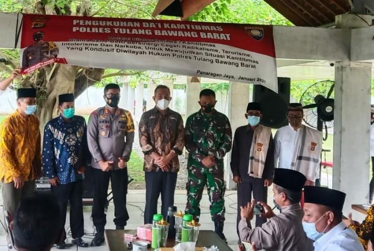 Polres Tubaba Bentuk Dai Kamtibmas untuk Cegah Radikalisme