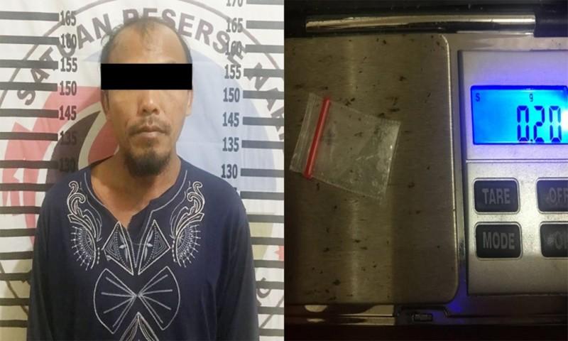 Polres Tulangbawang Tangkap Pengedar Sabu-sabu di Banjaragung