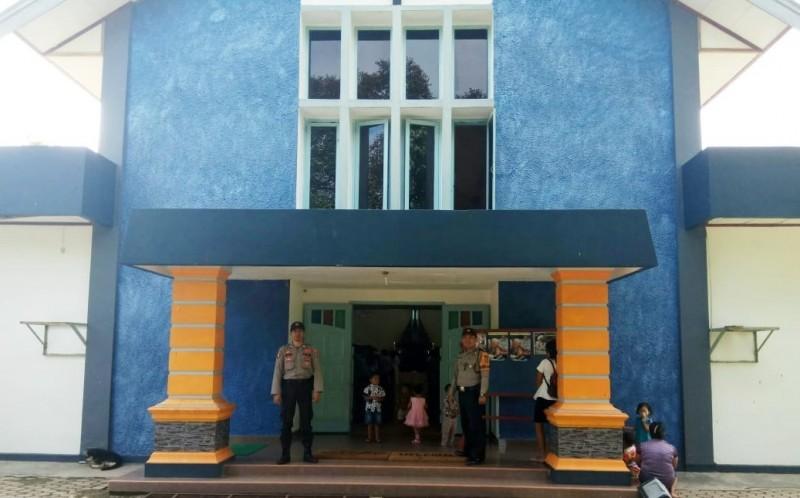 Polres Tulangbawang Tingkatkan Pengamanan Tempat Ibadah