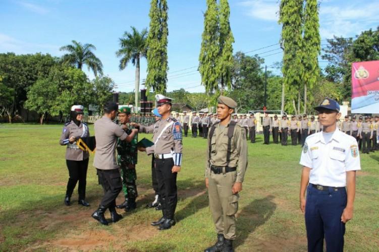 Polres Way Kanan Gelar OperasiKeselamatan Lalulintas Krakatau 2019