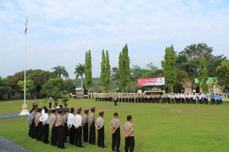 Polres Way Kanan Gelar Upacara Hari Kebangkitan Nasional